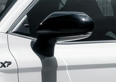 Camry XP Black Mirror Covers